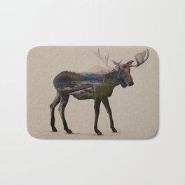 The Alaskan Bull Moose Bath Mat