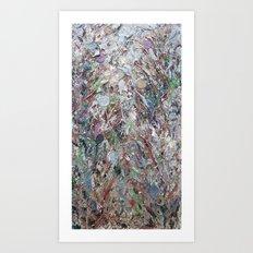 Pollock Cherry Buds Art Print