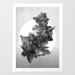 Asteroids sculpture Art Print