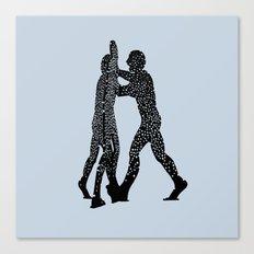 Molecule Man Canvas Print