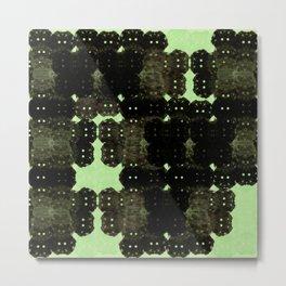 Alien Cocoons Metal Print