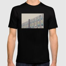 CHOI HUNG MEDIUM Black Mens Fitted Tee