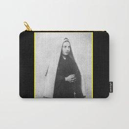 Billard Perrin - Portrait of Bernadette Soubirous 2 Carry-All Pouch