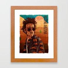 Raising arizona Framed Art Print