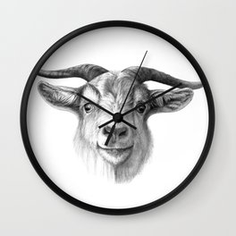 Curious Goat G124 Wall Clock