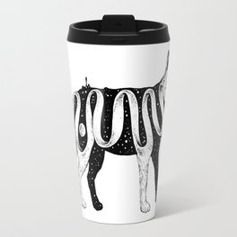 Lost in Its Own Existence (Wolf) Travel Mug