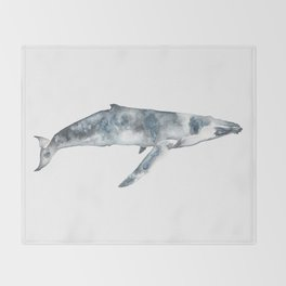 Whalep Throw Blanket