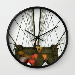 Brooklyn My Love Wall Clock