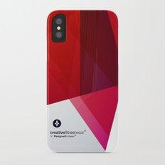 Abstrakt iPhone X Slim Case