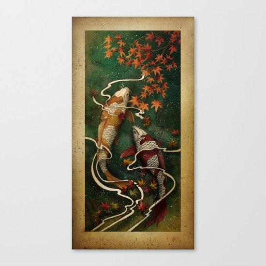 Autumn Kois Canvas Print