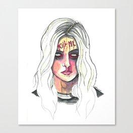 Kill Me Canvas Print