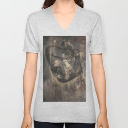 Women who run with wolves II. Bonewoman Unisex V-Neck