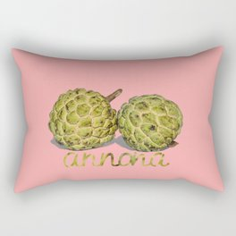 ANNONA TROPICAL FRUIT Rectangular Pillow