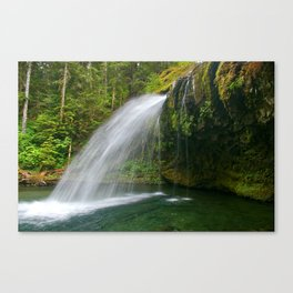 Iron Creek Falls fine art print Canvas Print