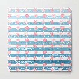 AFE Starfish Pattern Metal Print