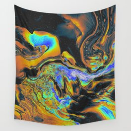 BLUE SUPREME VULNERABILITY Wall Tapestry