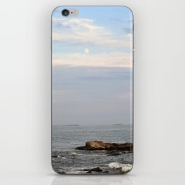 The Moon Over the Ocean iPhone Skin