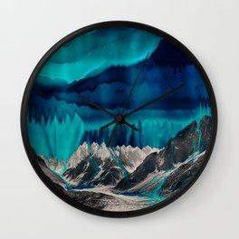 Skyfall, Melting Blue Sky Wall Clock