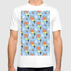 Oh Crab! White Mens Fitted Tee MEDIUM