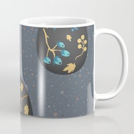 Collection Of Colorful Happy Easter Eggs Coffee Mug