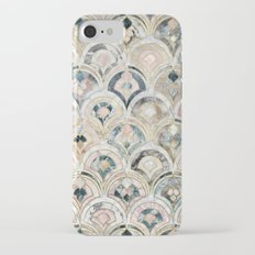 Art Deco Marble Tiles in Soft Pastels iPhone 7 Slim Case