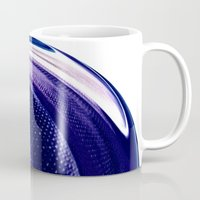 aelwen Mugs featuring Aubergine by Rose Etiennette
