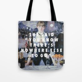 Run to the Folies-Bergere Tote Bag