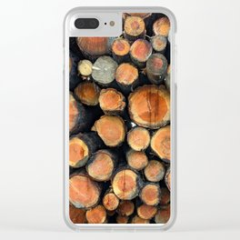 Lumber Clear iPhone Case