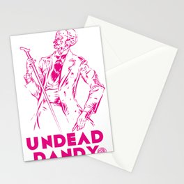 undead dandy Stationery Cards