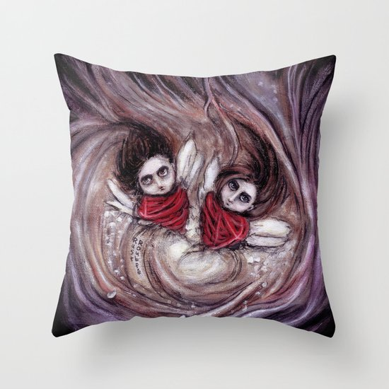 Dearly Loved Friday Throw Pillow