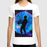 jazz T-shirts featuring Jazz by Saundra Myles