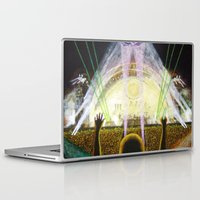 concert Laptop & iPad Skins featuring The Concert by Vargamari