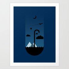 My Umbrella  Art Print