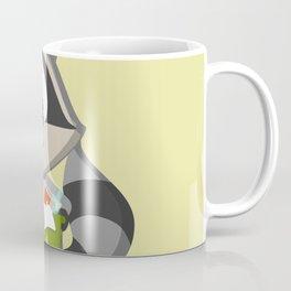 Recycle Raccoon Coffee Mug