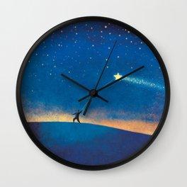 Stars Kite Wall Clock