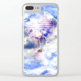 Siebenter Himmel Clear iPhone Case