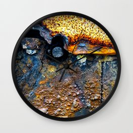 meEtIng wiTh IrOn no23 Wall Clock