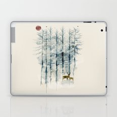 the blue forest Laptop & iPad Skin