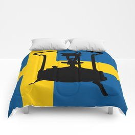 Sweden flag | Pressure stove Comforters