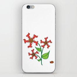Doxie Flower - Dachshund Dog - Weiner Dog - Weenie Dog iPhone Skin