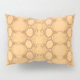 yellow snake skin minimal Pillow Sham