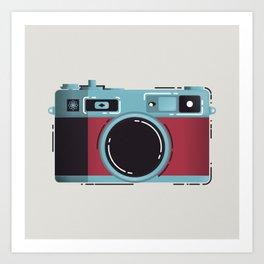 Little Yashica Camera Art Print