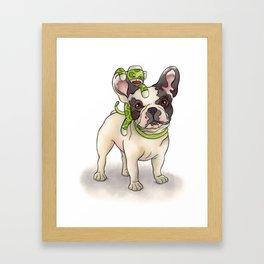 Bubba & Monkey Framed Art Print