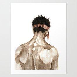 O. Art Print