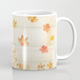 Autumn Flowers in Watercolor Coffee Mug