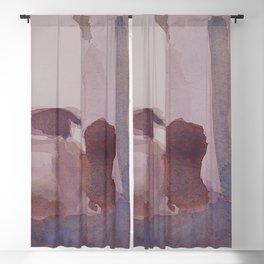 Monochrome Still Life Blackout Curtain