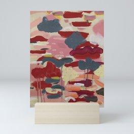 Sunsets and Flower Fields Mini Art Print