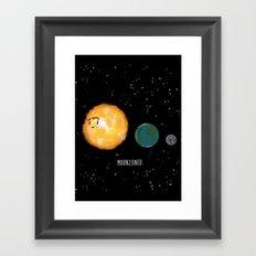 Moonzoned Framed Art Print