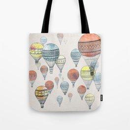 Voyages Hot Air Balloons Tote Bag