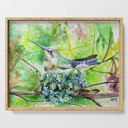 Hummingbird Nest Serving Tray